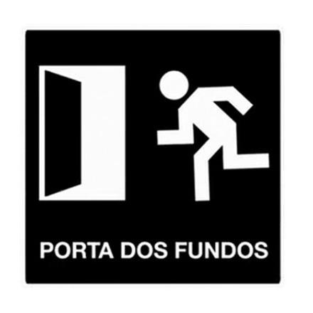 O Porta dos Fundos é uma produtora de vídeos de comédia veiculados na internet.